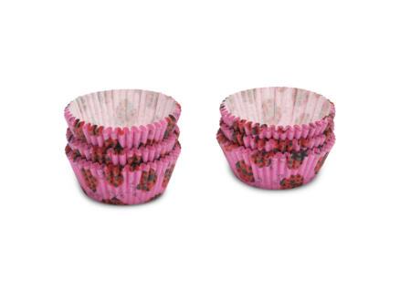 Cupcake vorm 5cm lieveheersbeestjes 200 stuks