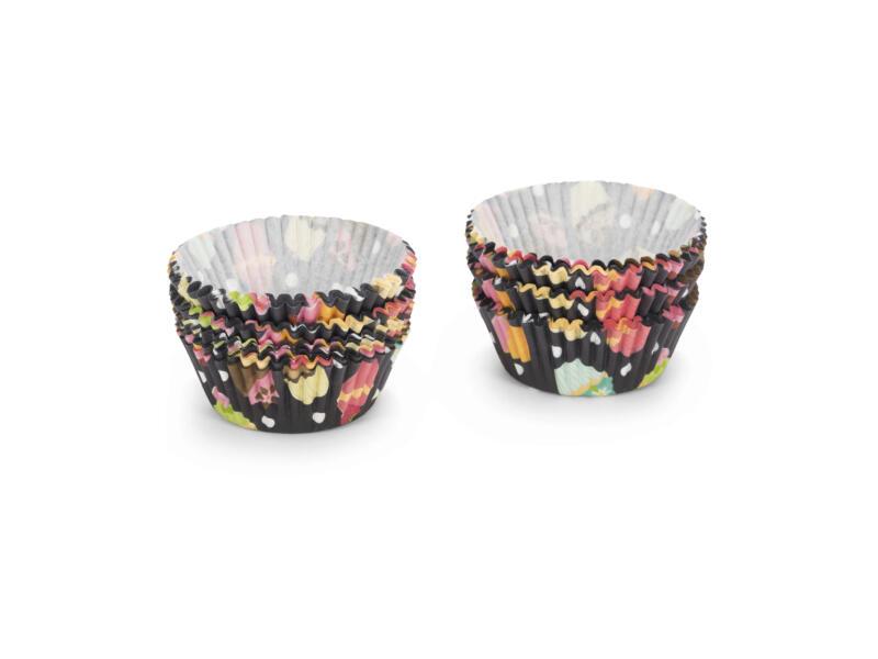Cupcake vorm meerkleurig 5cm 200 stuks