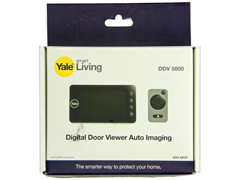 Yale DDC 5800 judas numérique avec fonction d'enregistrement