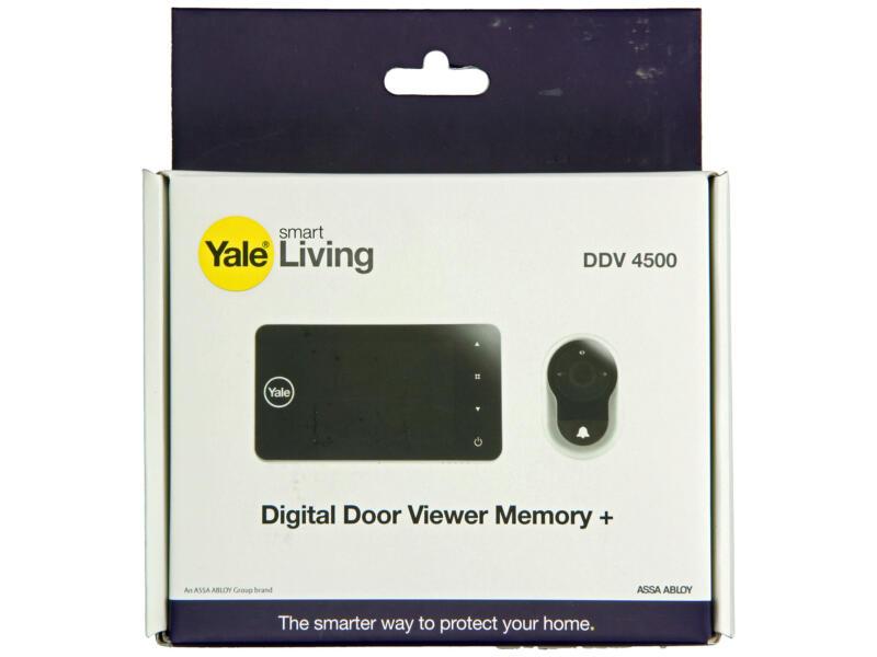 Yale DDV 4500 judas numérique avec fonction d'enregistrement