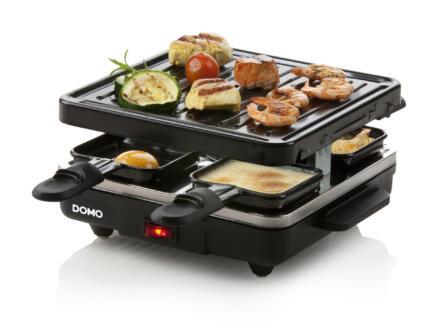 Domo DO1005G Just Us raclette en grill 4 personen