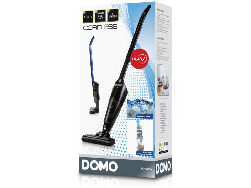 Domo DO1013SV steelstofzuiger 14,4V zwart/blauw 2-in-1