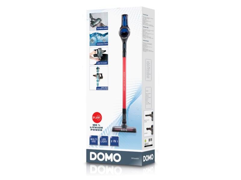 Domo DO222SV Optimus aspirateur balai 2-en-1 21,6V Li-Ion