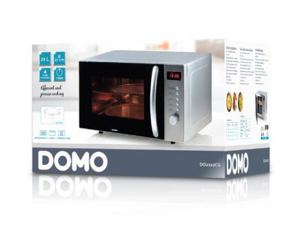 Domo DO2332CG 3-en-1 four à micro-ondes combiné argent