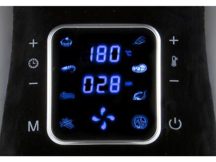 Domo DO513FR heteluchtfriteuse XXL LCD-display 5,5l