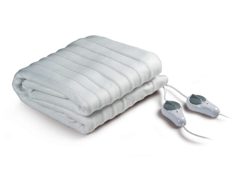 Domo DO602ED couverture chauffante 140x150 cm blanc