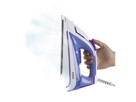 Domo DO7052S stoomstrijkijzer keramiek blauw-paars