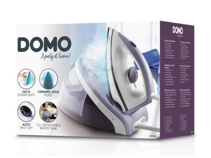 Domo DO7111S centrale vapeur avec semelle céramique 4,5 bar