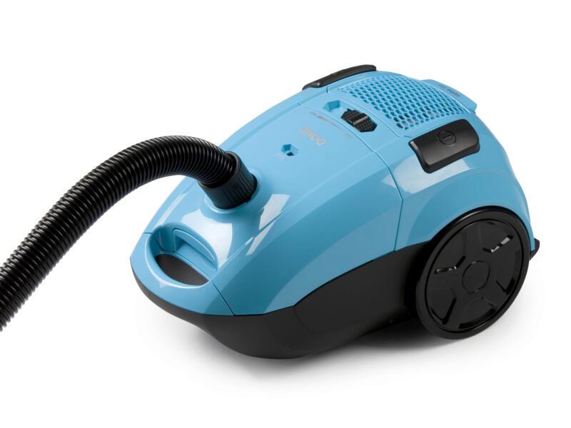 Domo DO7278S aspirateur bleu avec sac
