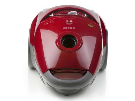 Domo DO7282S aspirateur avec sac 3l rouge + 3 sacs