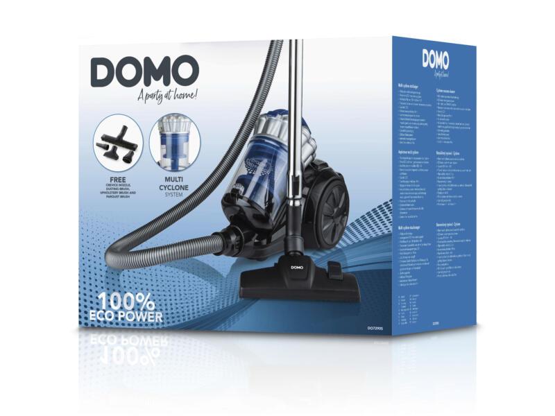 Domo DO7290S stofzuiger zonder zak multicycloon 2,5l
