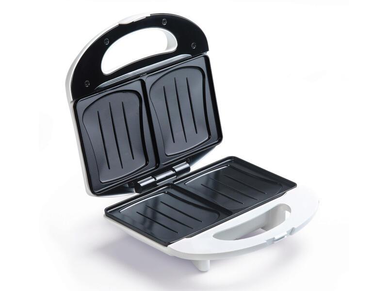 Domo DO9122C 3-en-1 croque-gaufre-grill