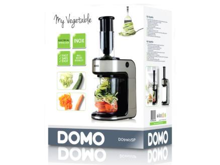 Domo DO9165SP My Vegetable coupe-légumes spirales électrique 80W inox