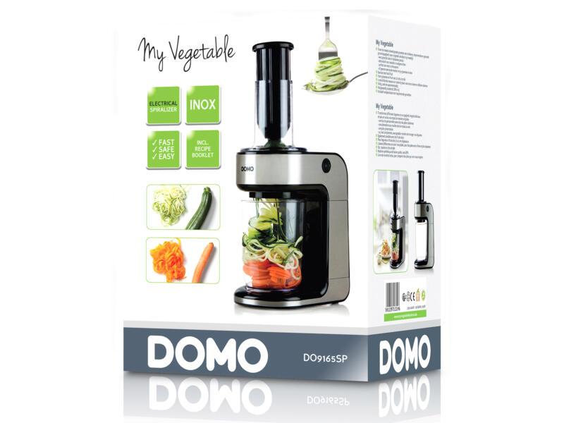 Domo DO9165SP My Vegetable elektrische spiraalsnijder 80W inox