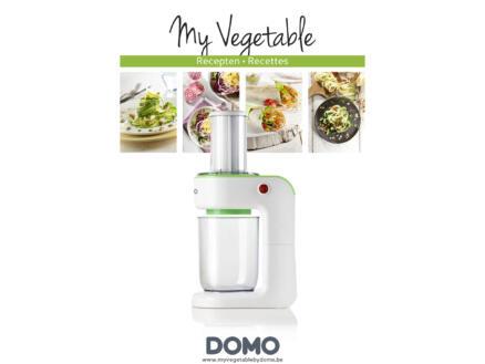 Domo DO9172SP My Vegetable coupe-légumes spirales électrique 80W rouge