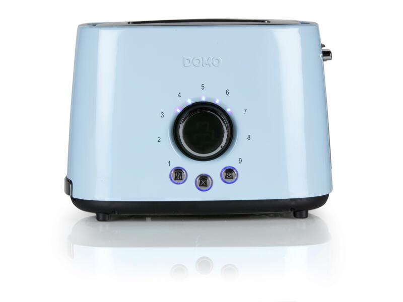 Domo DO953T grille-pain 2 tranches bleu pastel