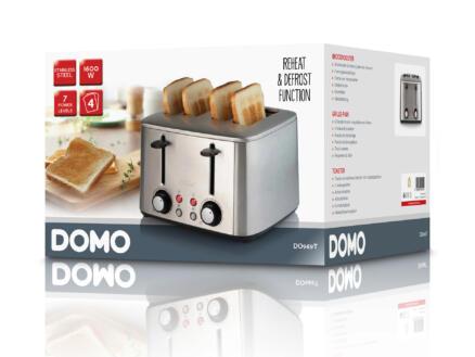 Domo DO969T broodrooster 4 sneden