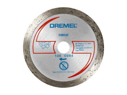Dremel DSM20 disque à meuler diamant