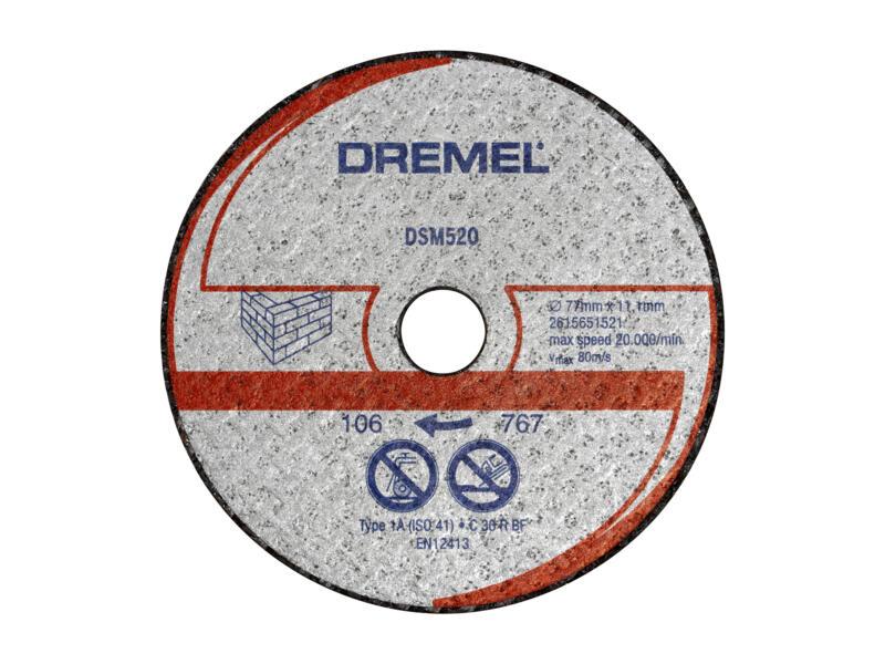 Dremel DSM20 doorslijpschijf voor metselwerken 2 stuks