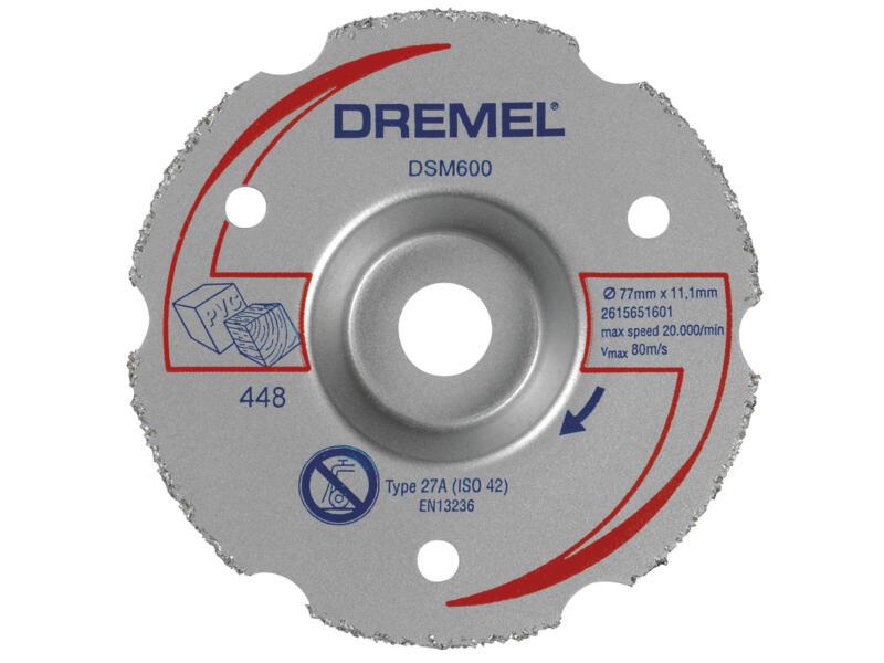 Dremel DSM20 scie compacte + 7 accessoires
