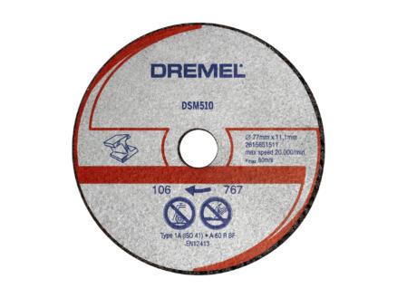 Dremel DSM510 disque à meuler métal/matière synthétique
