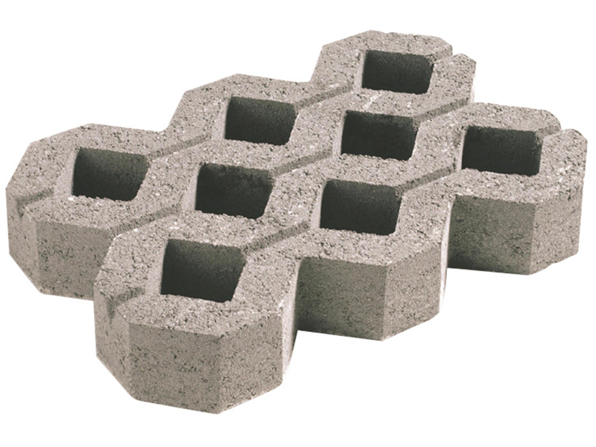 Dalle Beton Parking Herbe dalle gazon 60x40x10 cm 0,24m² béton gris