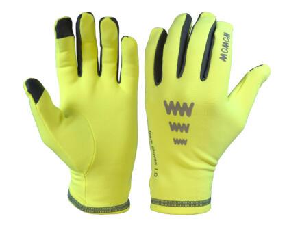 Dark Gloves 1.0 gants de vélo M fleece jaune fluo