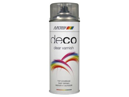 Motip Deco Clear Varnish laque en spray brillant 0,4l transparent