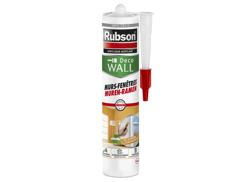 Rubson Deco Wall acrylaatkit muren & ramen 280ml grijs