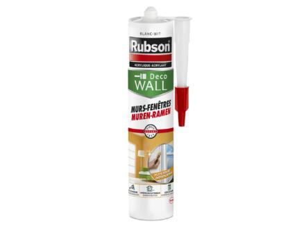 Rubson Deco Wall mastic acrylique murs & fenêtres 280ml blanc