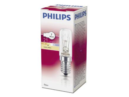 Philips Deco gloeilamp buis E14 7W dimbaar