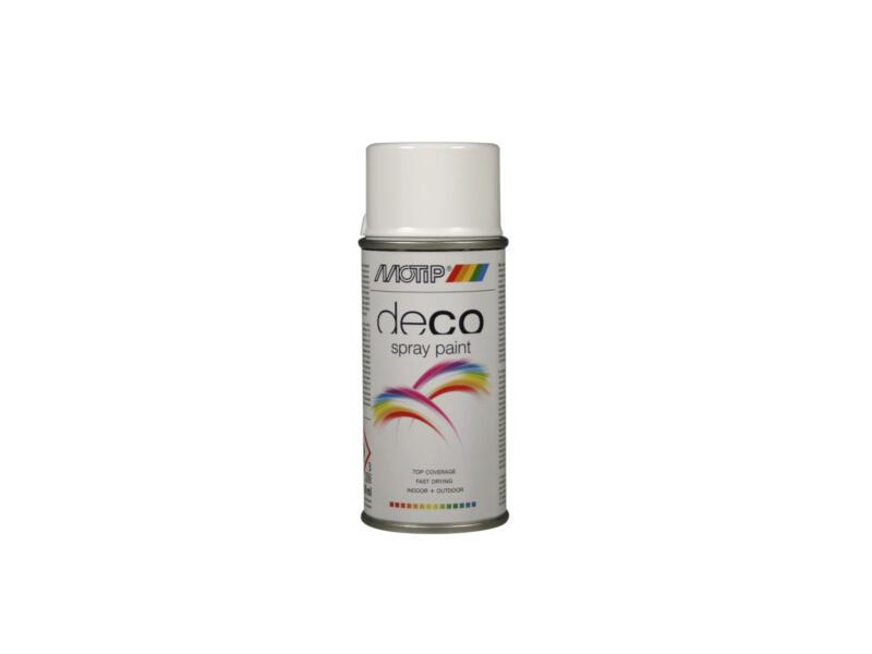 Motip Deco lakspray hoogglans 0,15l helder wit