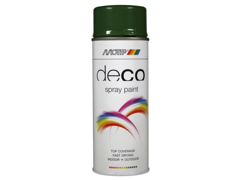 Motip Deco lakspray hoogglans 0,4l bladgroen