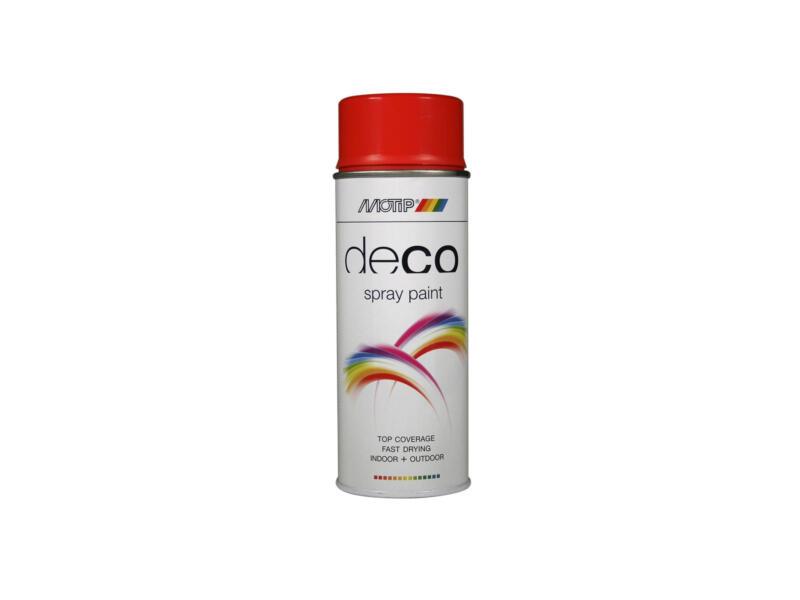 Motip Deco lakspray hoogglans 0,4l bloedoranje