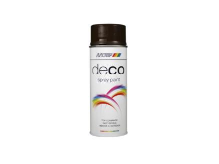 Motip Deco lakspray hoogglans 0,4l chocolade bruin