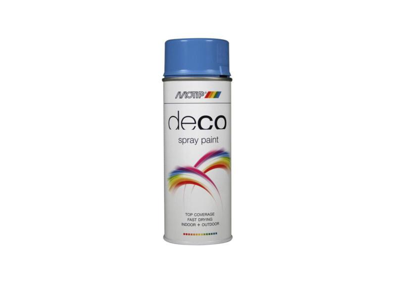 Motip Deco lakspray hoogglans 0,4l lichtblauw