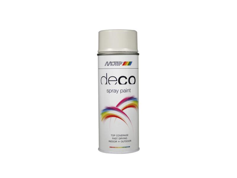 Motip Deco lakspray hoogglans 0,4l lichtgrijs