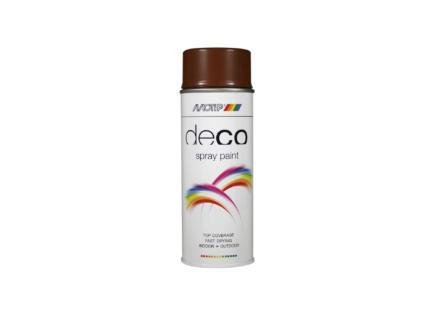 Motip Deco lakspray hoogglans 0,4l ree bruin