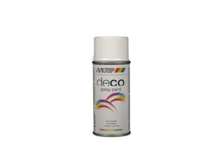 Motip Deco laque en spray brillant 0,15l blanc pur