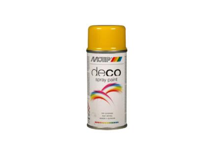 Motip Deco laque en spray brillant 0,15l jaune colza
