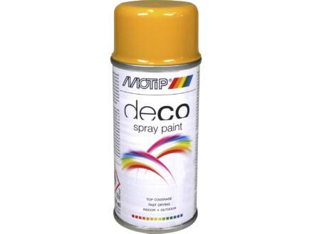 Motip Deco laque en spray brillant 0,15l jaune or