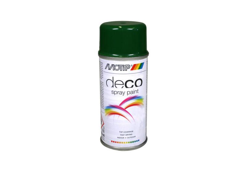 Motip Deco laque en spray brillant 0,15l vert feuillage
