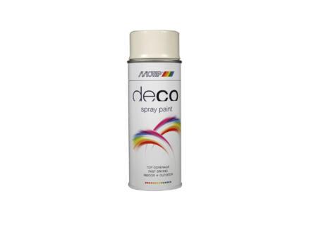 Motip Deco laque en spray brillant 0,4l blanc gris