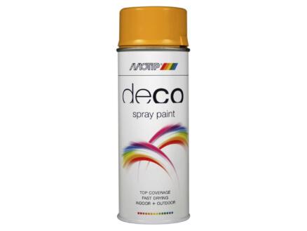 Motip Deco laque en spray brillant 0,4l jaune or
