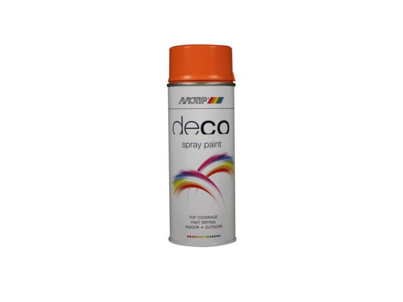 Motip Deco laque en spray brillant 0,4l orange pastel