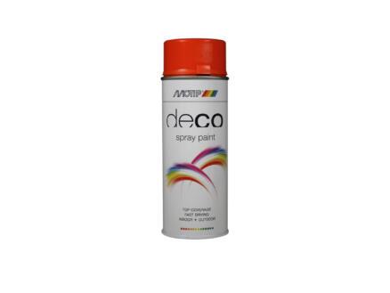 Motip Deco laque en spray brillant 0,4l orange pur
