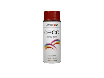 Motip Deco laque en spray brillant 0,4l rouge rubis