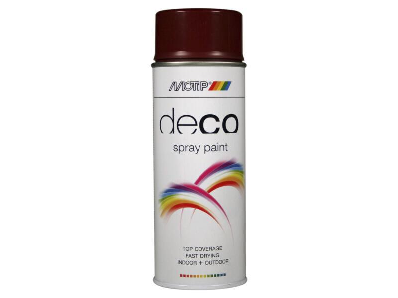Motip Deco laque en spray brillant 0,4l rouge vin