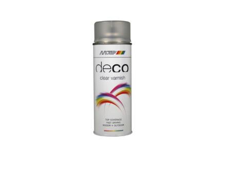 Motip Deco laque en spray brillant 0,4l transparent
