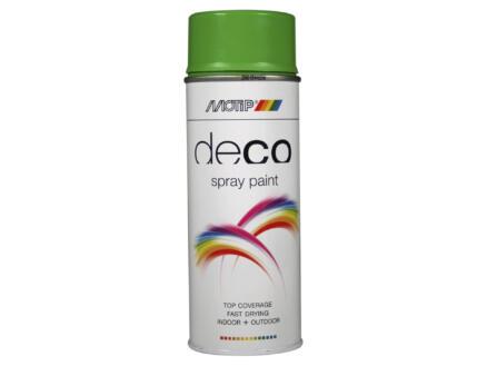 Motip Deco laque en spray brillant 0,4l vert jaune